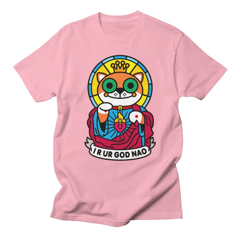 Jeezus Cat Men's Regular T-Shirt by SuperHappyMagic