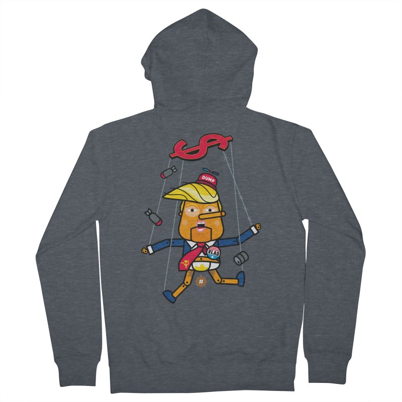 No, you're the puppet Women's French Terry Zip-Up Hoody by StudioDelme