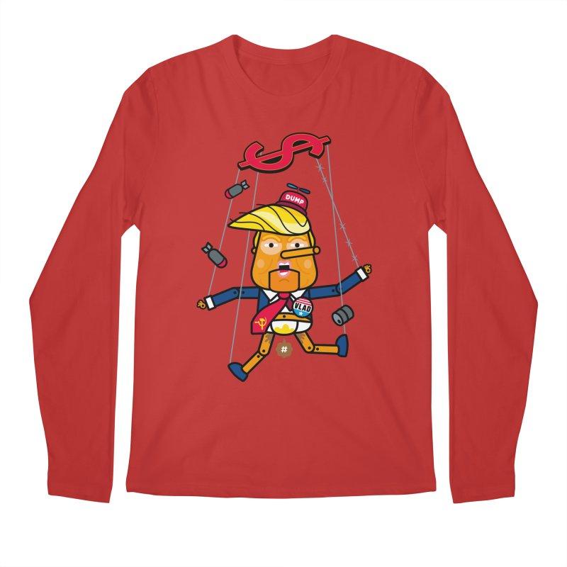 No, you're the puppet Men's Regular Longsleeve T-Shirt by StudioDelme