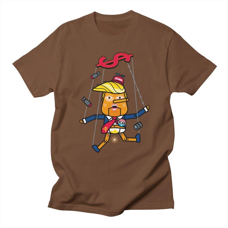 No, you're the puppet Men's Regular T-Shirt by SuperHappyMagic