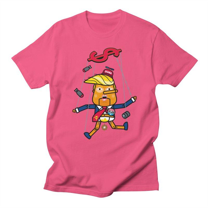 No, you're the puppet Women's Unisex T-Shirt by SuperHappyMagic