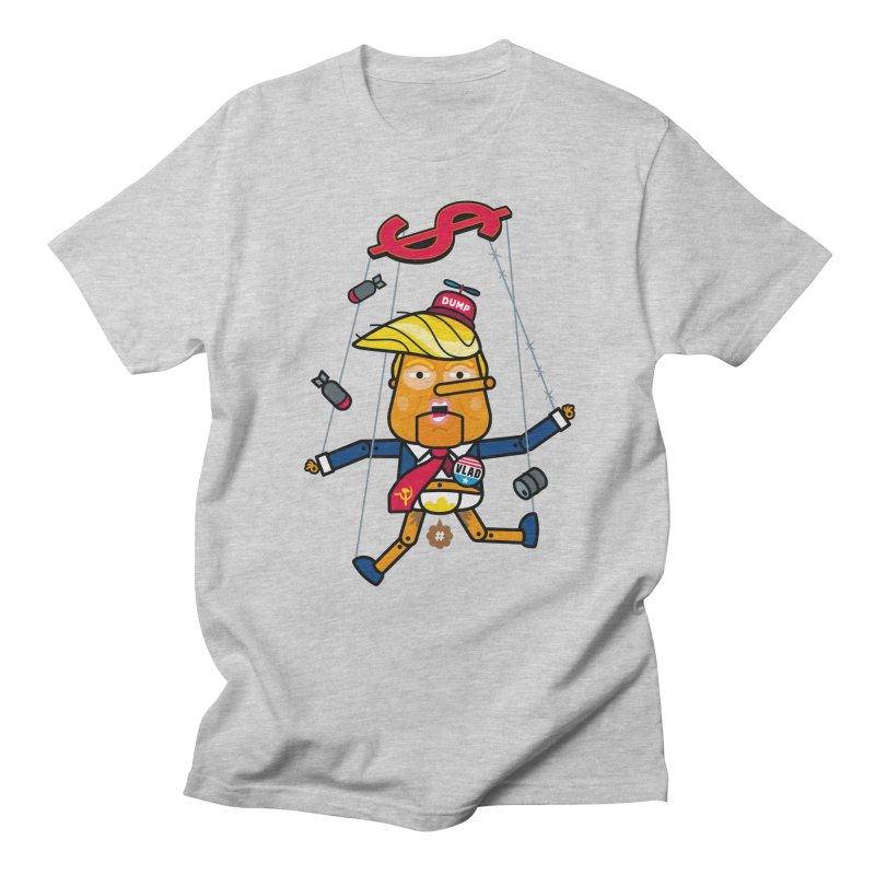 No, you're the puppet Men's T-shirt by SuperHappyMagic