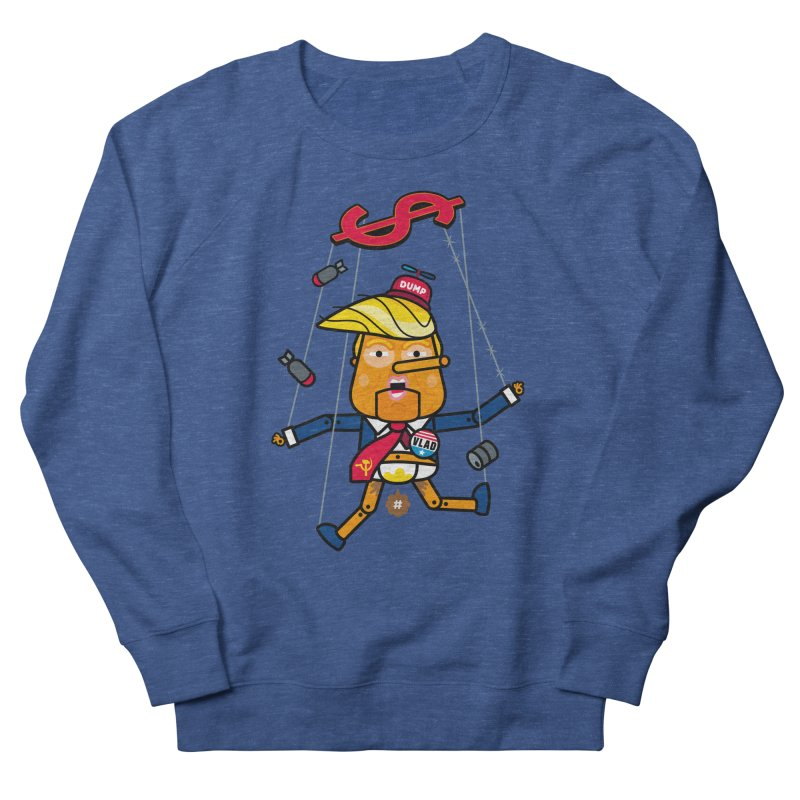No, you're the puppet Women's Sweatshirt by SuperHappyMagic