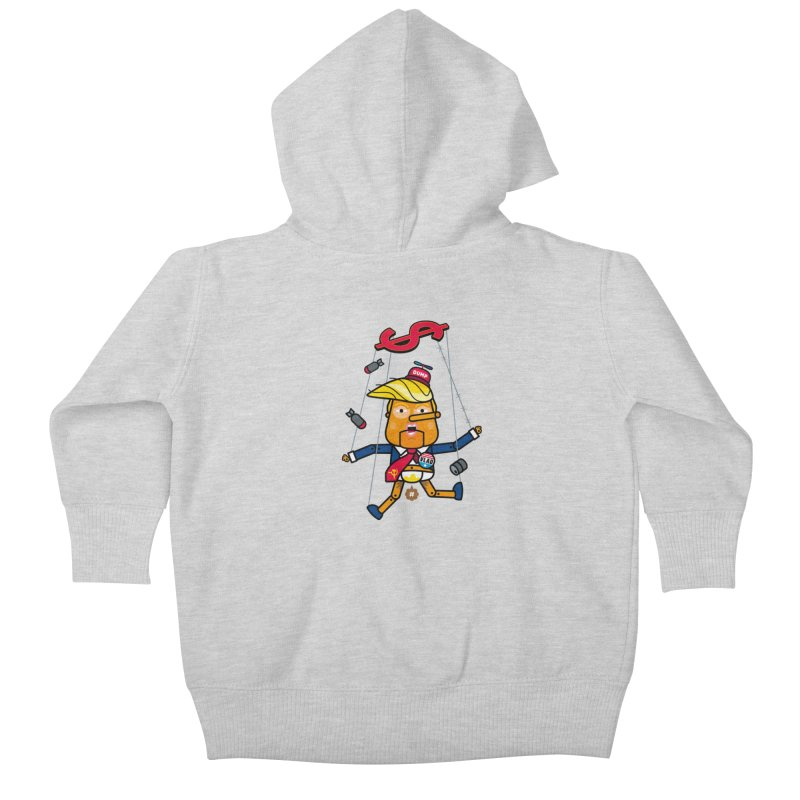 No, you're the puppet Kids Baby Zip-Up Hoody by StudioDelme