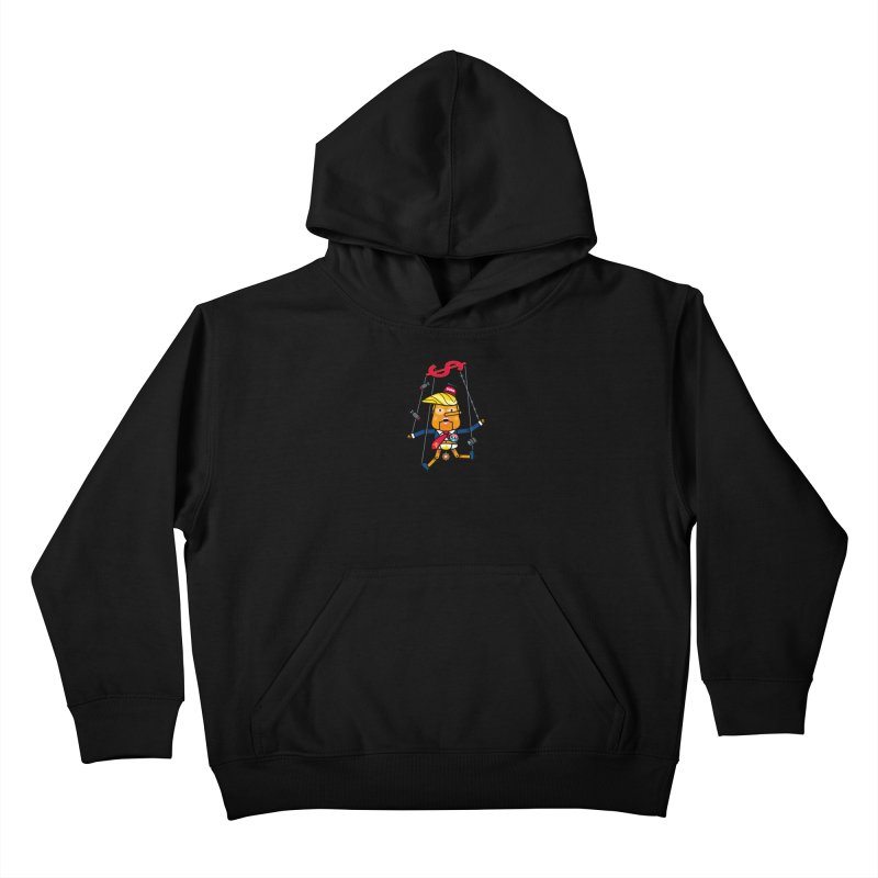 No, you're the puppet Kids Pullover Hoody by StudioDelme