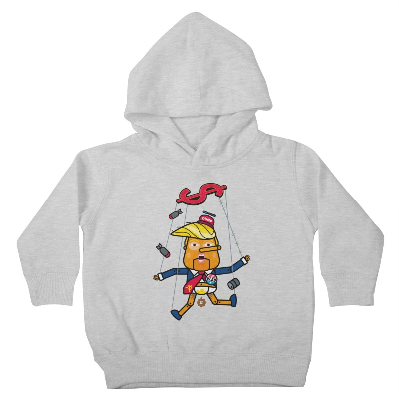 No, you're the puppet Kids Toddler Pullover Hoody by SuperHappyMagic