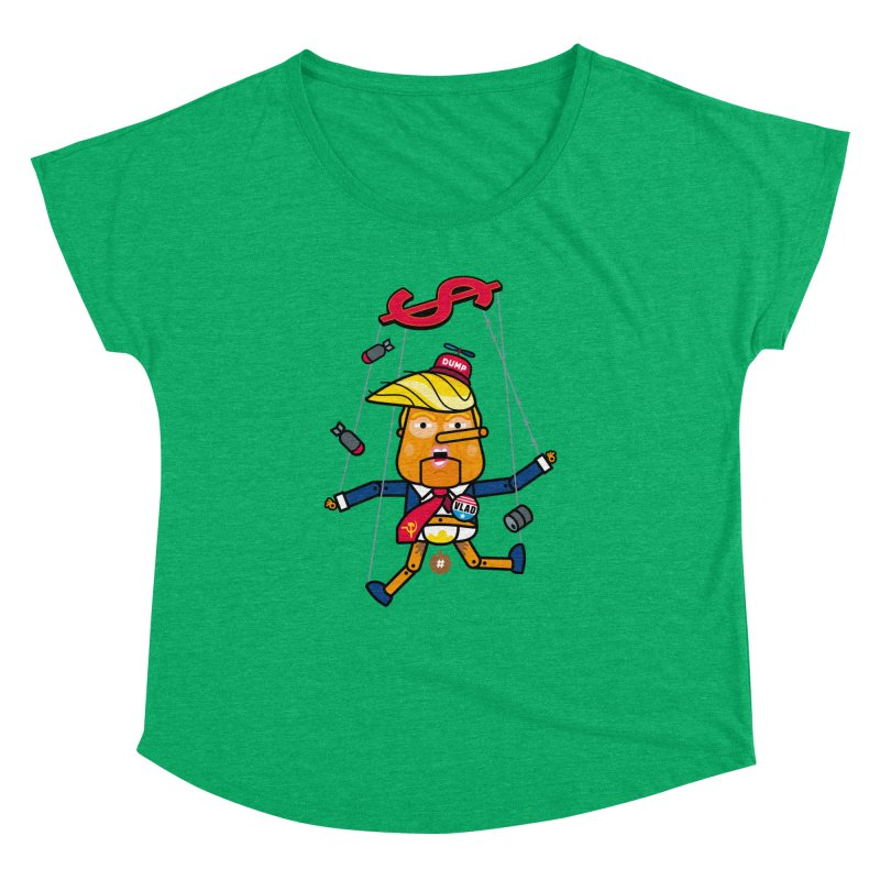 No, you're the puppet Women's Dolman by SuperHappyMagic