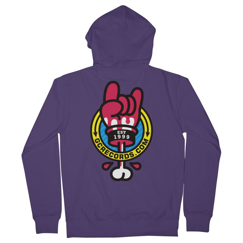 GC Records Women's French Terry Zip-Up Hoody by SuperHappyMagic