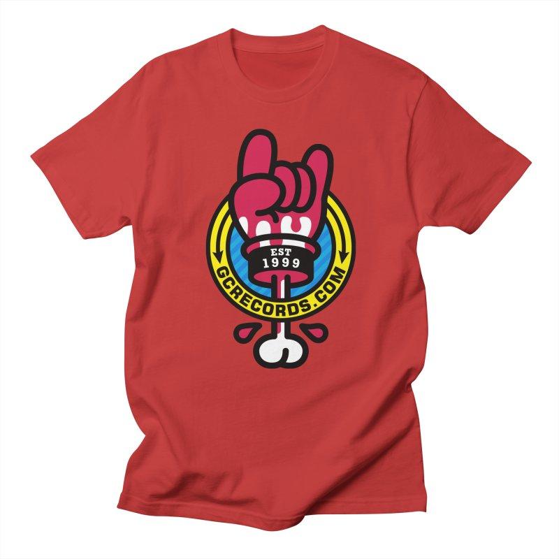 GC Records Men's T-shirt by SuperHappyMagic
