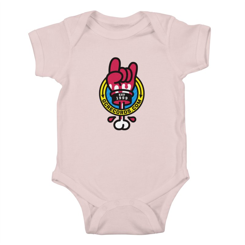 GC Records Kids Baby Bodysuit by SuperHappyMagic