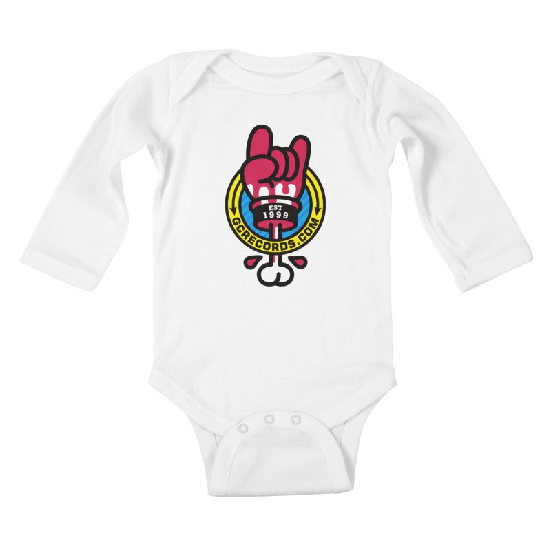 GC Records Kids Baby Longsleeve Bodysuit by StudioDelme