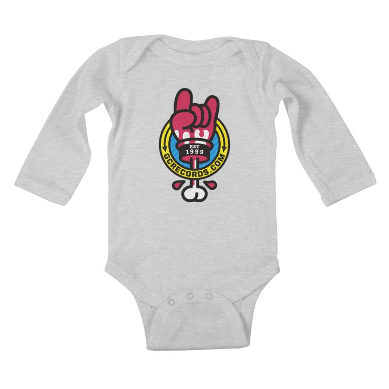 GC Records Kids Baby Longsleeve Bodysuit by SuperHappyMagic