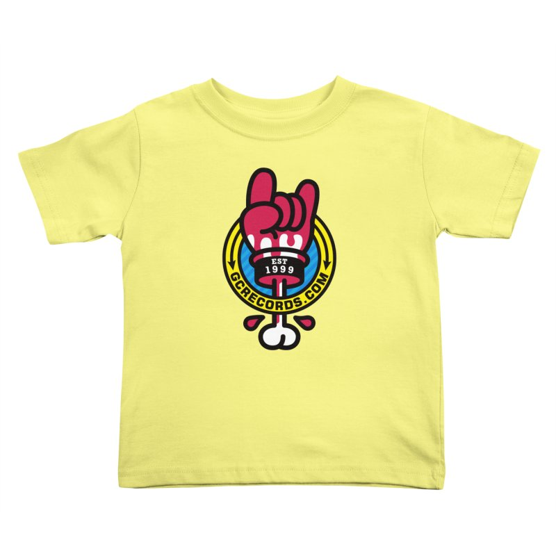 GC Records Kids Toddler T-Shirt by SuperHappyMagic