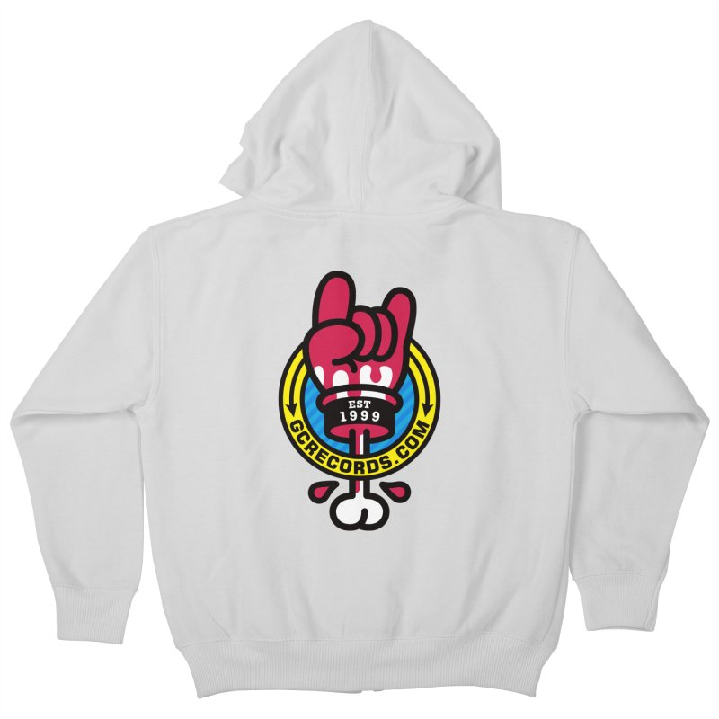 GC Records Kids Zip-Up Hoody by SuperHappyMagic