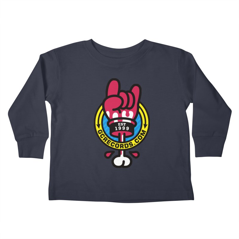 GC Records Kids Toddler Longsleeve T-Shirt by SuperHappyMagic