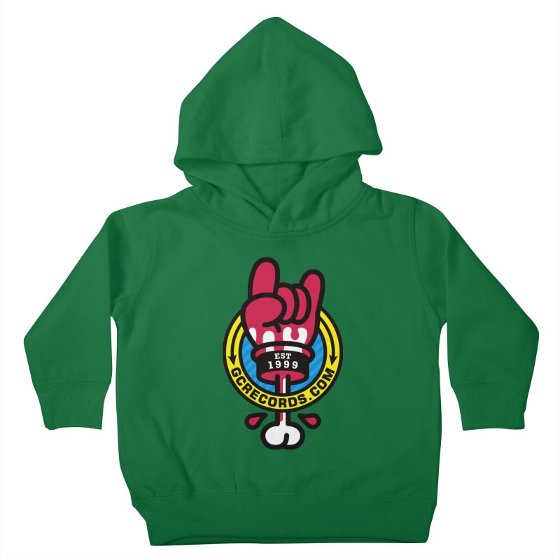 GC Records Kids Toddler Pullover Hoody by SuperHappyMagic