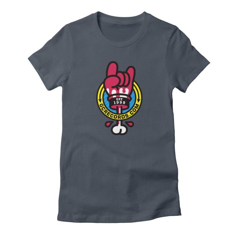 GC Records Women's T-Shirt by SuperHappyMagic