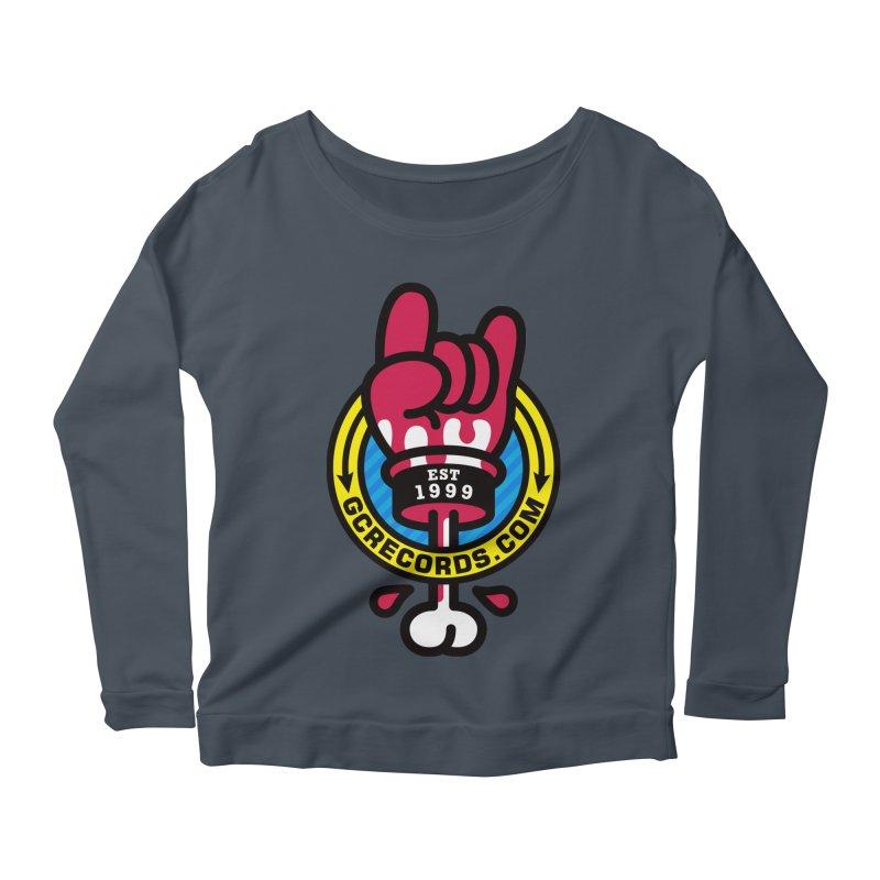 GC Records Women's Scoop Neck Longsleeve T-Shirt by StudioDelme