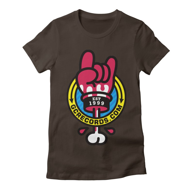 GC Records Women's Fitted T-Shirt by StudioDelme
