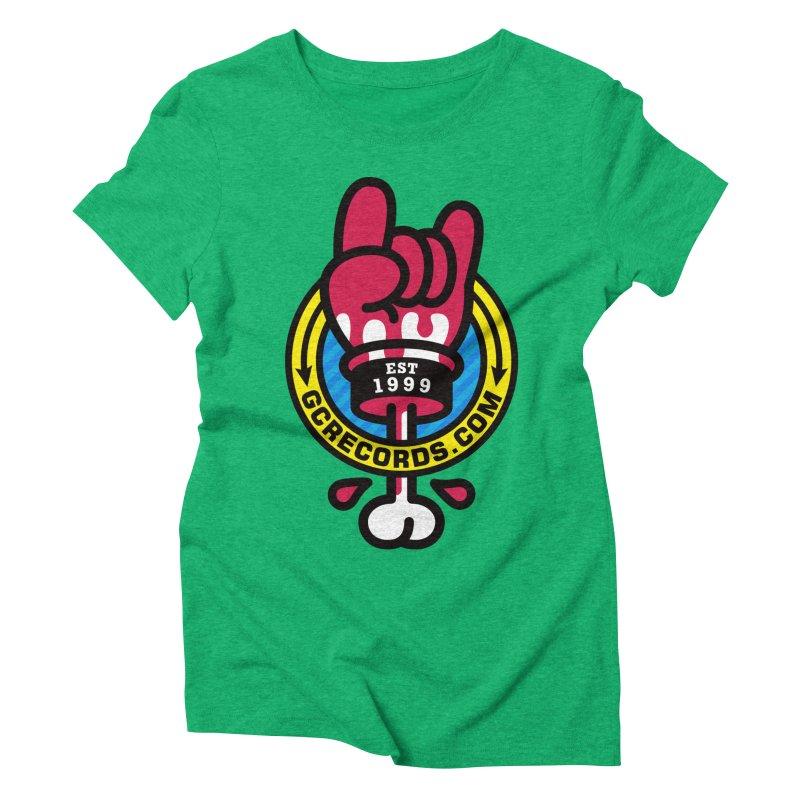 GC Records Women's Triblend T-Shirt by SuperHappyMagic