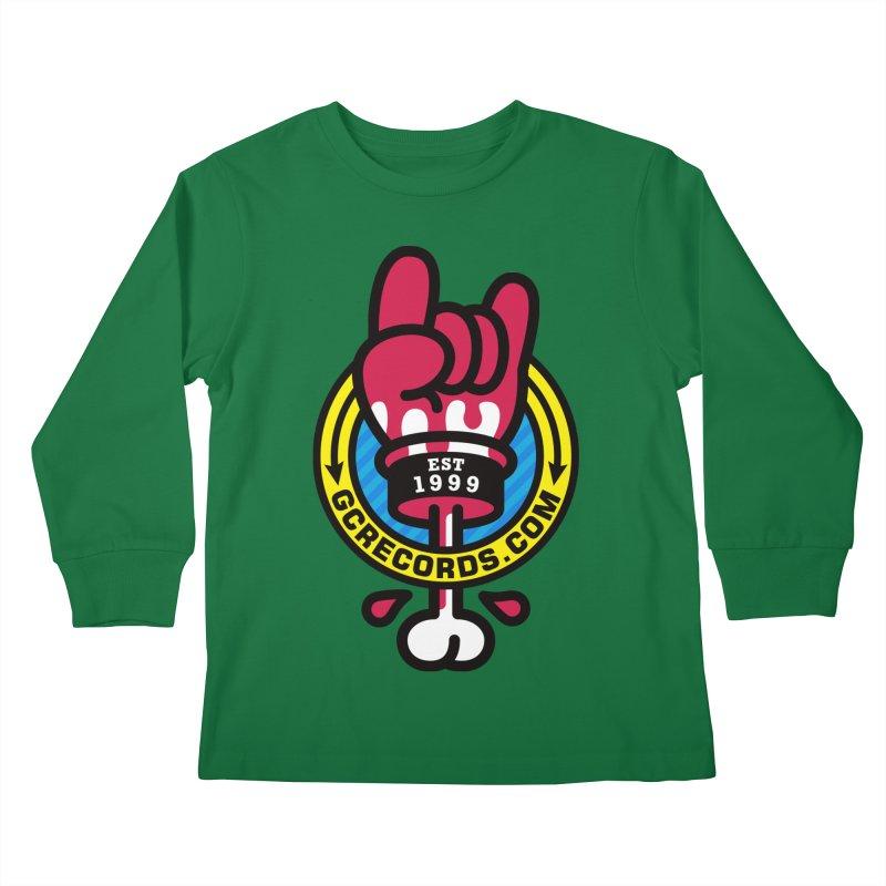 GC Records Kids Longsleeve T-Shirt by StudioDelme
