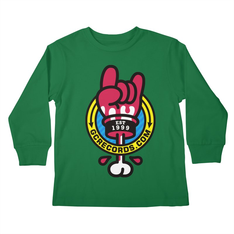 GC Records Kids Longsleeve T-Shirt by SuperHappyMagic