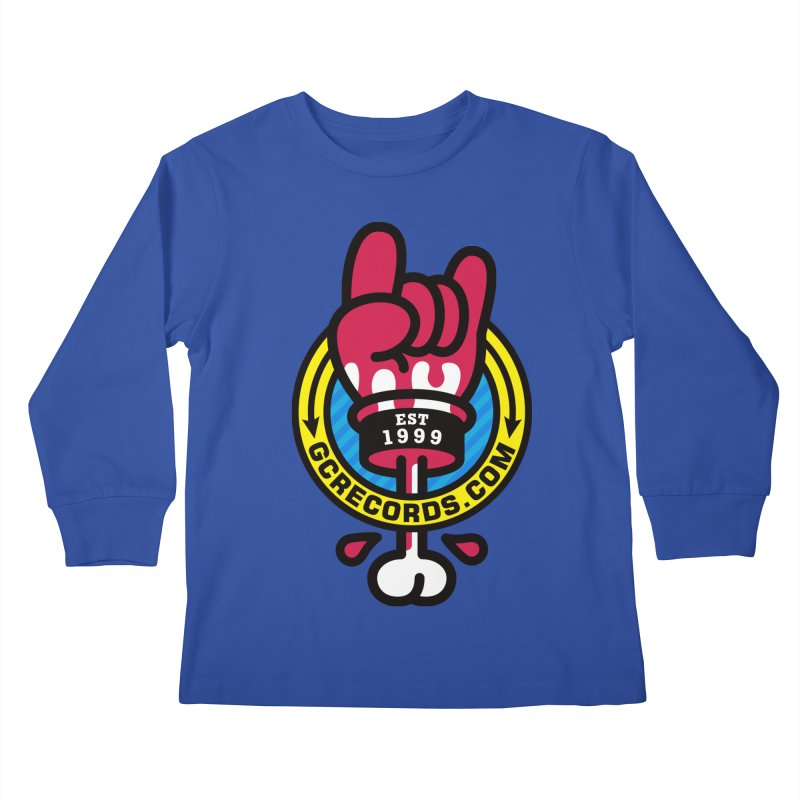 GC Records Kids Longsleeve T-Shirt by SuperHappyMagic