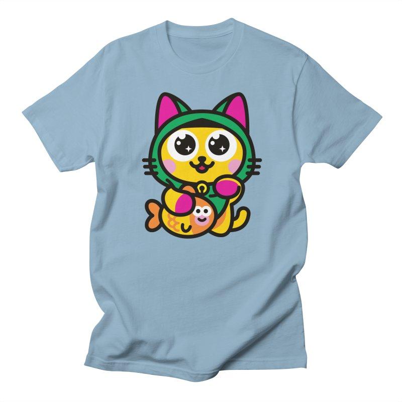 Muezza Women's Unisex T-Shirt by SuperHappyMagic