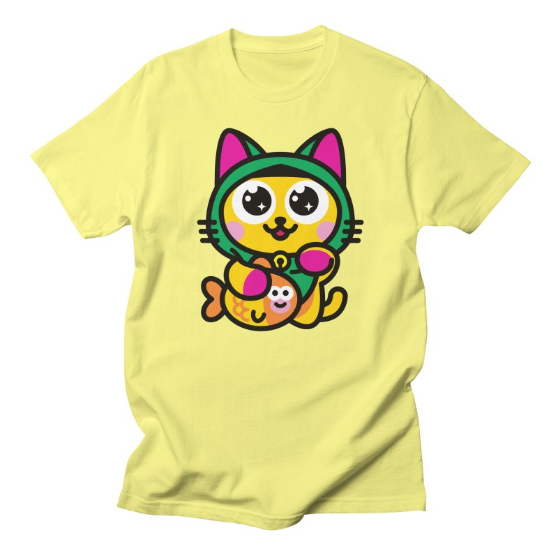 Muezza Men's Regular T-Shirt by SuperHappyMagic