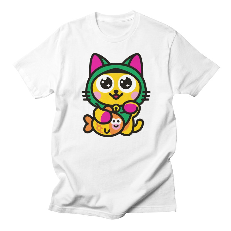 Muezza Women's Regular Unisex T-Shirt by SuperHappyMagic