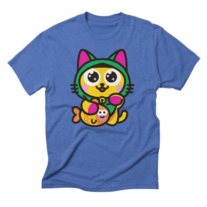 Muezza Men's Triblend T-Shirt by StudioDelme