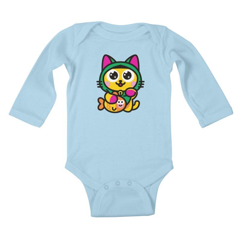 Muezza Kids Baby Longsleeve Bodysuit by StudioDelme