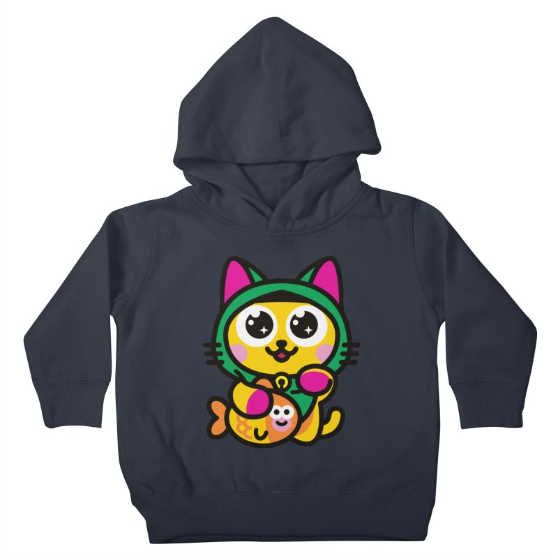 Muezza Kids Toddler Pullover Hoody by SuperHappyMagic