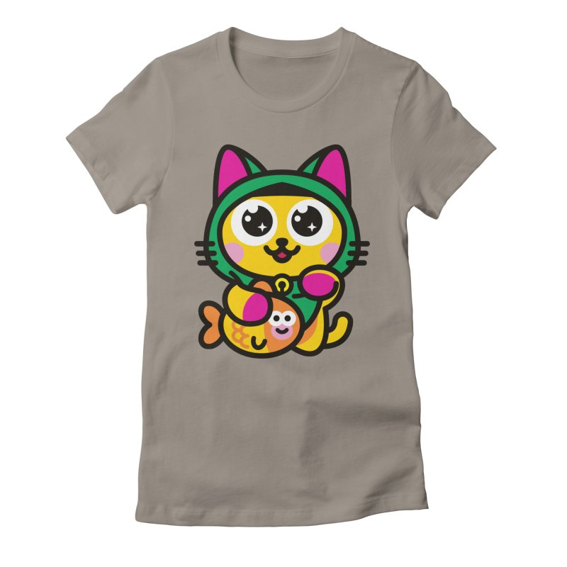 Muezza Women's Fitted T-Shirt by StudioDelme
