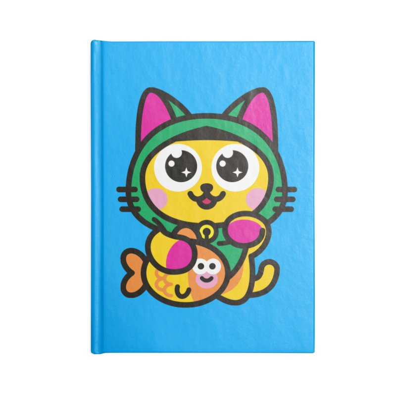 Muezza Accessories Notebook by SuperHappyMagic