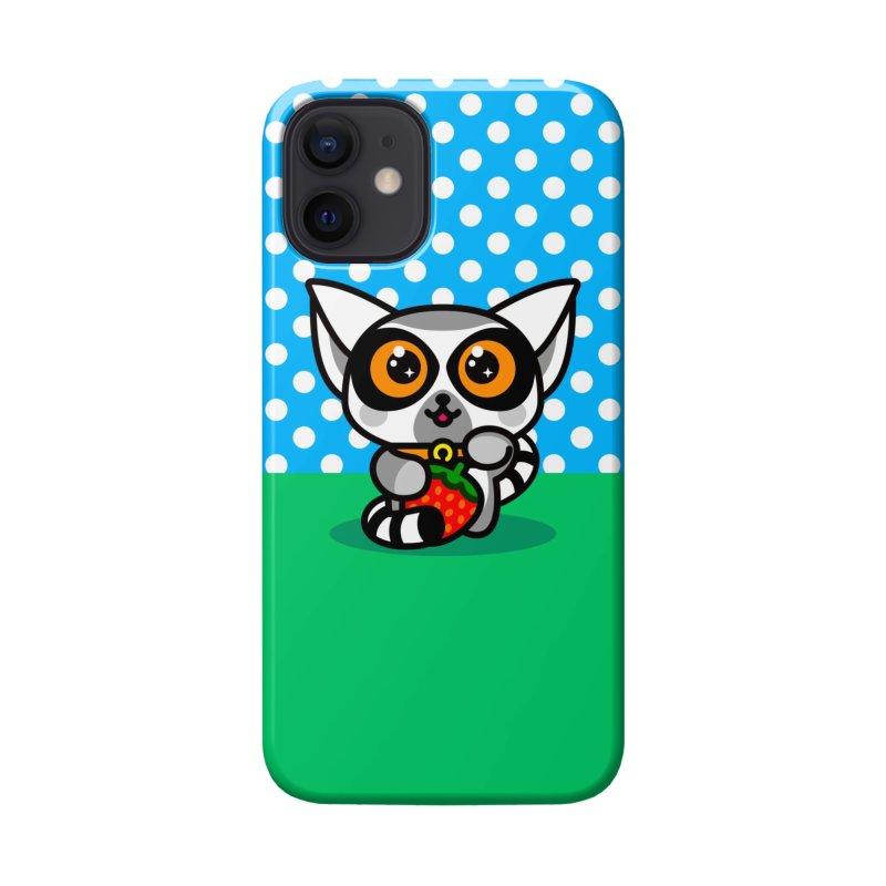 Lucky Lemur Accessories Phone Case by StudioDelme