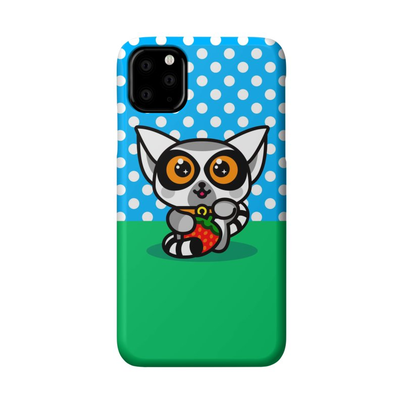 Lucky Lemur Accessories Phone Case by StudioDelme