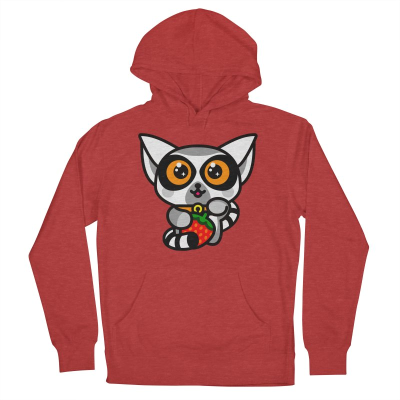 Lucky Lemur Women's Pullover Hoody by SuperHappyMagic