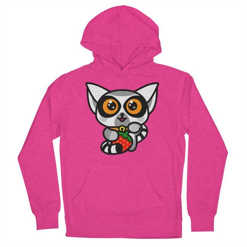 Lucky Lemur Women's Pullover Hoody by SuperHappyMagic