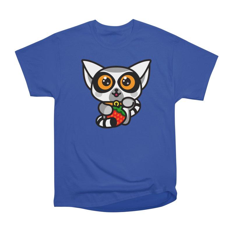 Lucky Lemur Men's Heavyweight T-Shirt by SuperHappyMagic