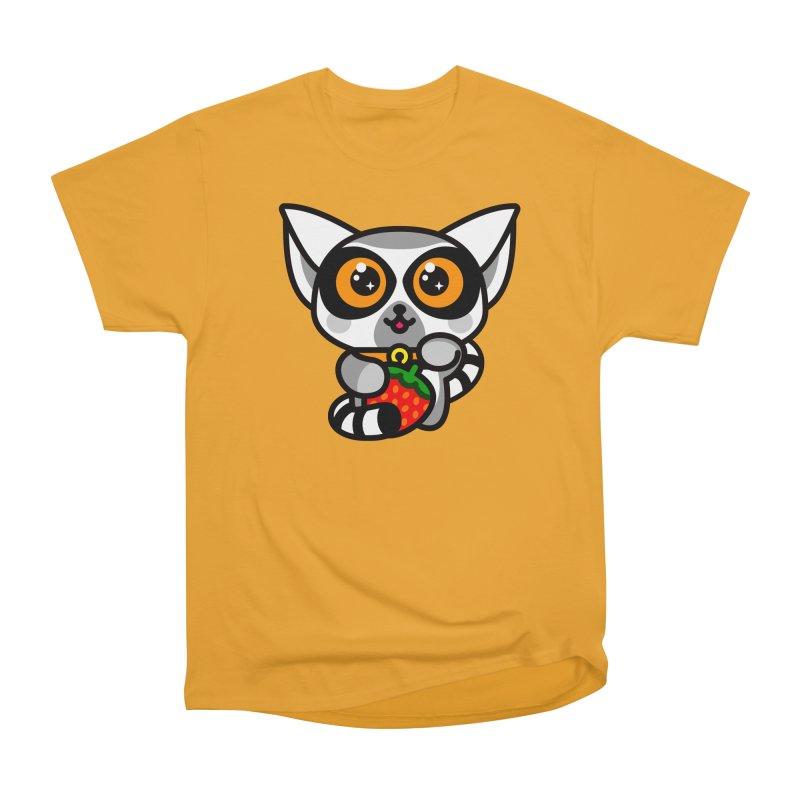 Lucky Lemur Men's Classic T-Shirt by SuperHappyMagic