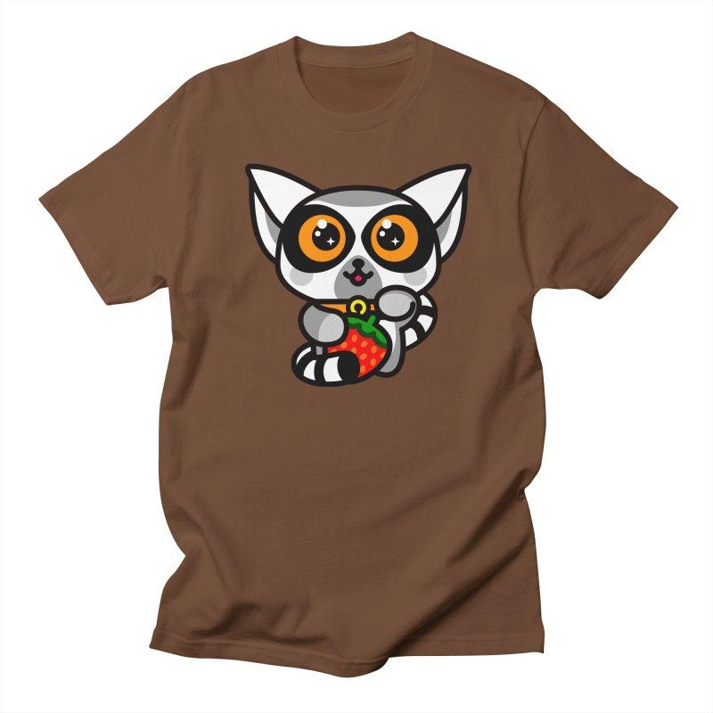 Lucky Lemur Women's Regular Unisex T-Shirt by SuperHappyMagic