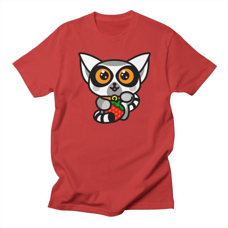 Lucky Lemur Men's Regular T-Shirt by StudioDelme