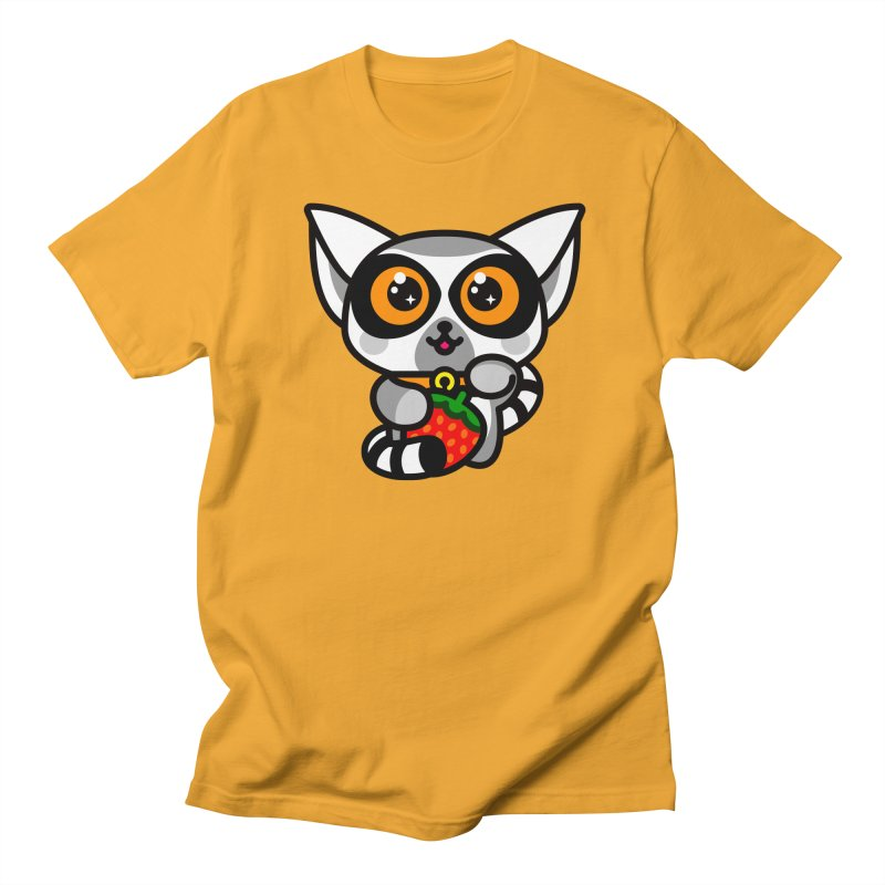 Lucky Lemur Women's Unisex T-Shirt by SuperHappyMagic