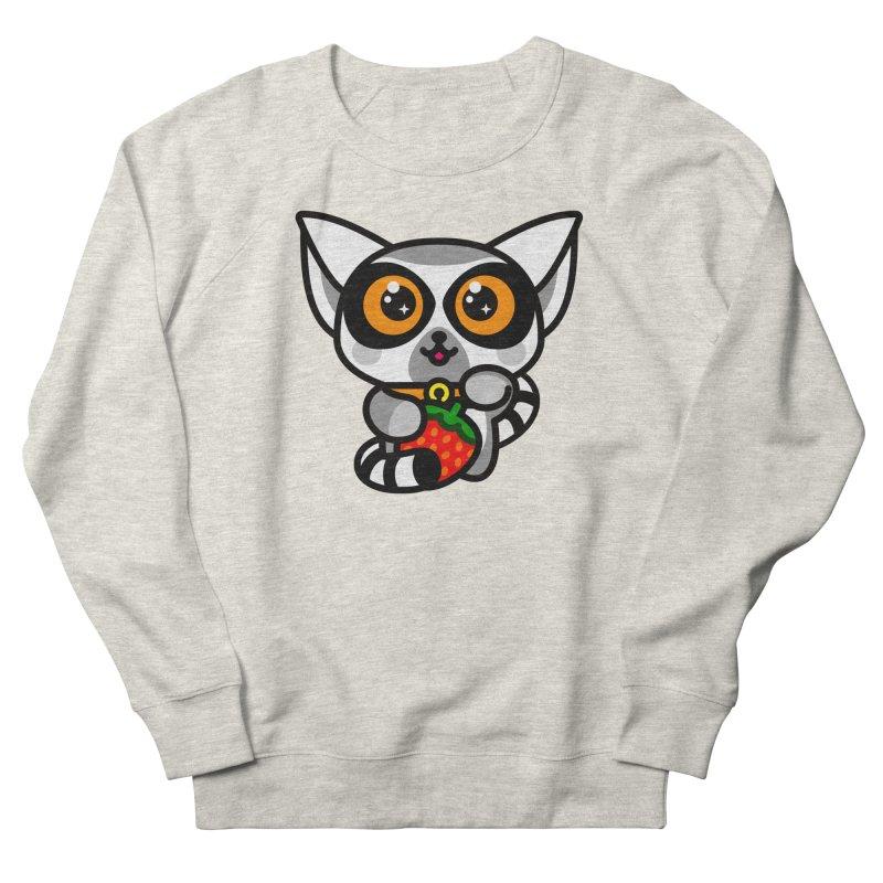 Lucky Lemur Women's French Terry Sweatshirt by SuperHappyMagic