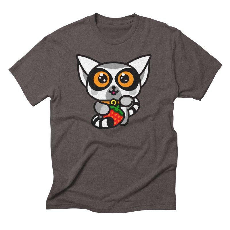 Lucky Lemur Men's Triblend T-shirt by SuperHappyMagic