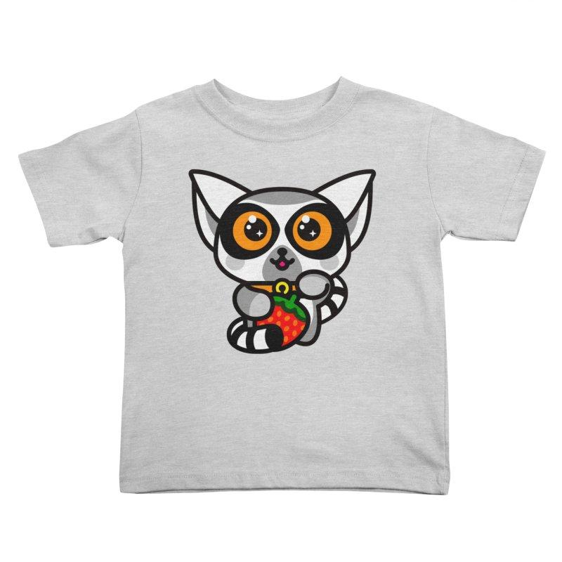 Lucky Lemur Kids Toddler T-Shirt by StudioDelme