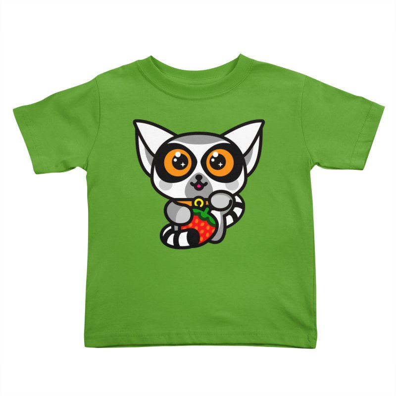 Lucky Lemur Kids Toddler T-Shirt by StudioDelme
