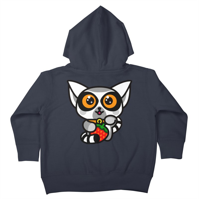Lucky Lemur Kids Toddler Zip-Up Hoody by SuperHappyMagic