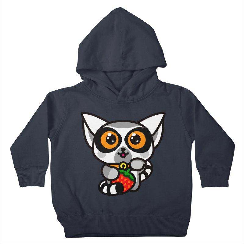 Lucky Lemur Kids Toddler Pullover Hoody by SuperHappyMagic